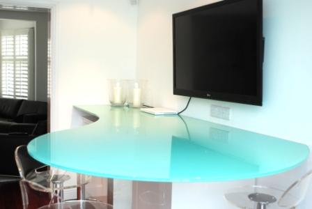 Glass furniture hamilton glass products Bespoke glass furniture