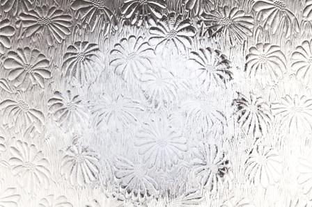 Mayflower Patterned Texture Glass