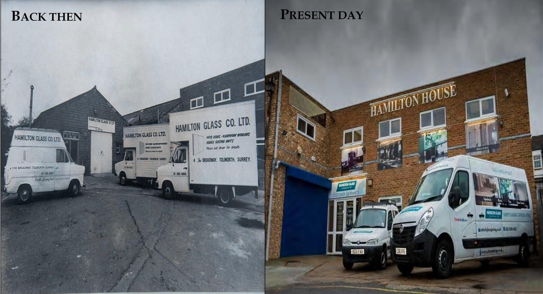 The Workshop Back in the Day and Now