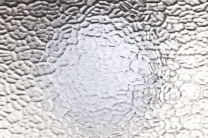 """Patterned Glass """"Arctic"""""""