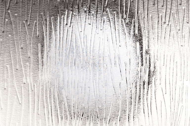 """Patterned Glass """"Charcoal"""""""