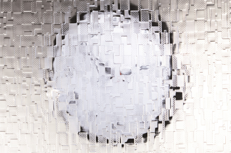 "Patterned Glass ""Digital"""