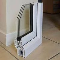 Image of a triple glazed unit